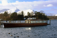 Enjoy the boat trips across Derwent Water, even on a beautiful winter's day