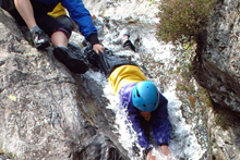 Organise group activities, such as Ghyll Scrambling