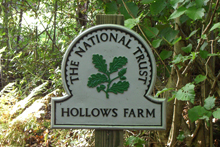 Hollows Farm is location within the National Trust