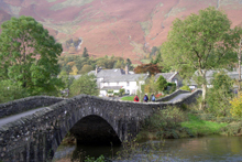 Grange Bridge in Borrowdale