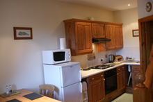 Hollows Cottage - The self-catering kitchen area